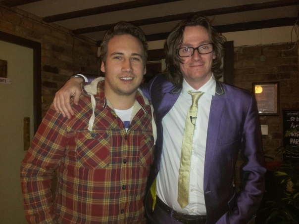 Simon and Ed Byrne